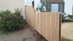 After Fence Install